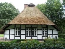 A bauernhaus at Volkskundliches Freilichtmuseum