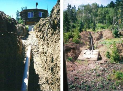 Pics of the septic system