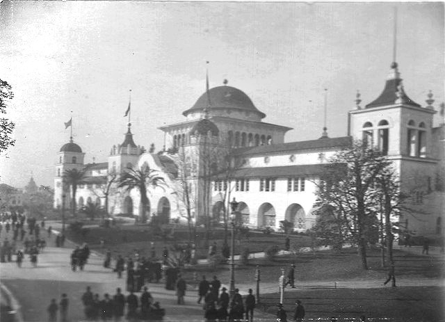 The California Building at the Columbian Exposition in Chicago, 1893