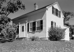 Cape Cod house Benjamin Dyer home