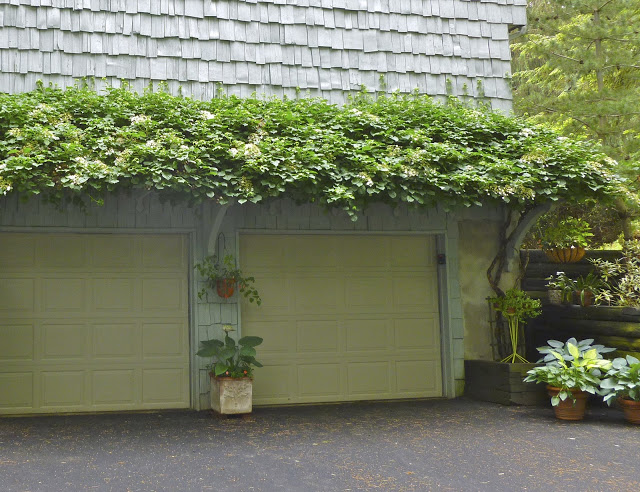 Garage Door with Pergola