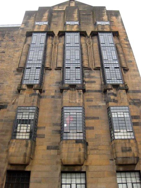 Glasgow School of Arts Oriel Windows