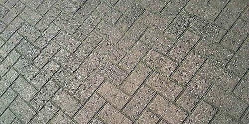 Example of Good Herringbone Block Paving - photo by quietlyurban.com