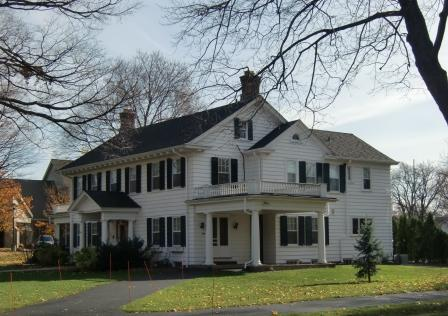 Greek Revival Architecture / A Greek Revival home in Holland MI