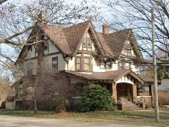 A Tudor house in Holland, Michigan