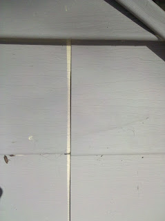 painting vinyl siding problem - contraction gap in the paint