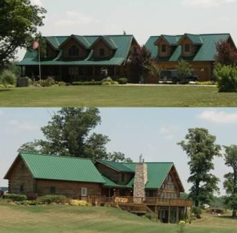 John Morris Log Home in Logan County Ohio