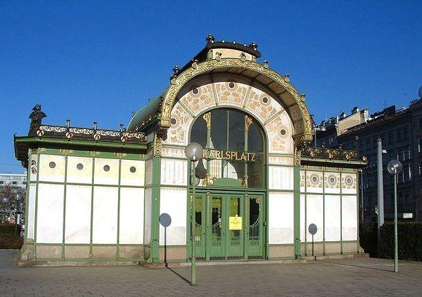 Karsplatz Stadtbahn – Art Nouveau subway station by Otto Wagner