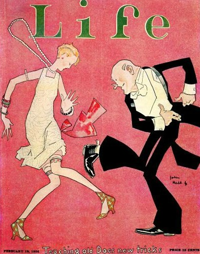 Art Deco cover of Life Magazine