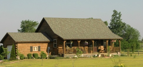 Logan County Log Home