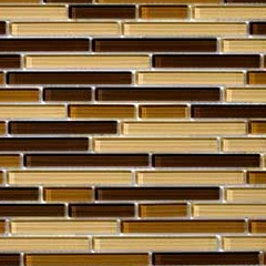 Emser Tile - Brown Glass - Long Thin Tiles are becoming popular - bathroom tile design ideas