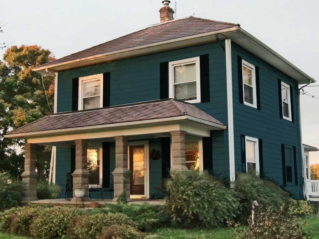 How I Chose My Exterior House Colors And Went From Plain To Pow