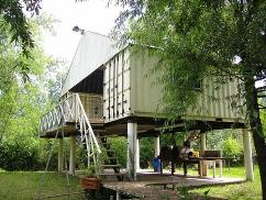 shipping container house, alternative housing
