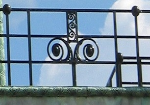 Art Nouveau Railing from Stoclet Palace