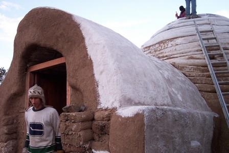 superadobe alternative housing