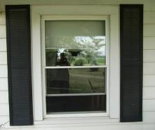 My front window shutters
