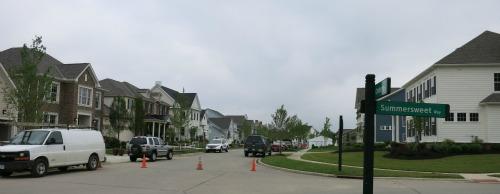 Construction and preparation activity at 2013 Parade of Homes