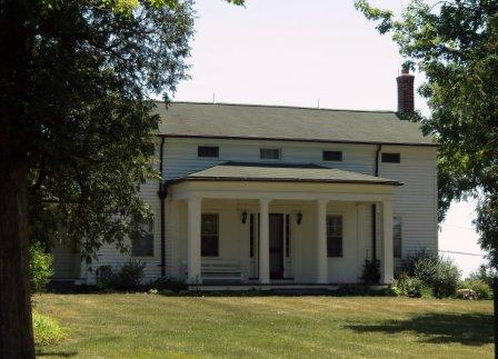 Sutherland Wilson Greek Revival Home Saline MI