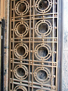 Art Deco grill at Leveque Tower in Columbus - click here to see additional photos