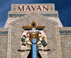 Mayan Art Deco Theater Denver
