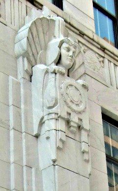Art Deco Guardian of the Ohio Supreme Court Building