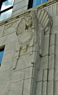 Art Deco Guardians of the Ohio Supreme Court Building