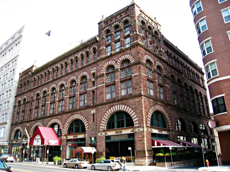 Cheney Building - 1875 - Hartfort,CT - Richardsonian Romanesque Commercial Building