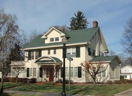 Colonial Revival House in Holland, MI