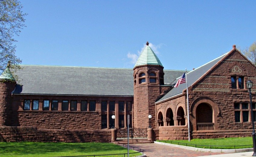 Converse Memorial Library - Malden, MA - 1885 - HH Richardson