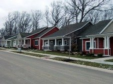 a view of Craftsman bungalows