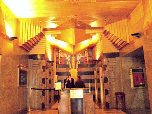 Art Deco Lobby of the Film Center Building in Manhattan, by Ely Jaque Kahn