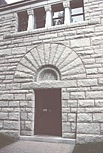 Front Door to the Glessner Home - Henry Hobson Richardson