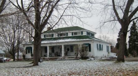 Greek Revival Architecture, Williams-Mast House, Dexter, Ann Arbor, MI