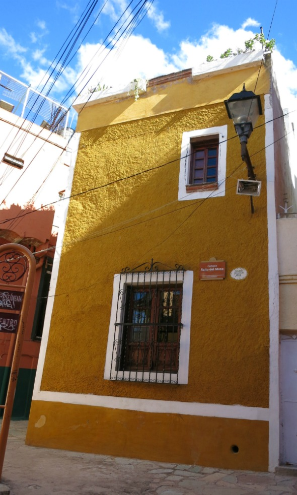 Mustard is an earth tone that intrudes into the realm of passionate colors. Colorful houses in Mexico are a recurring theme, while they only briefly showed up in America during the Victorian era.