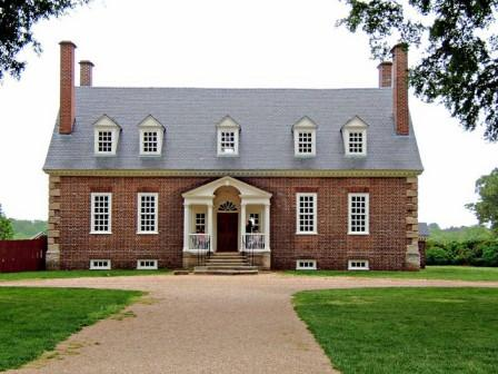 Georgian Architecture Gunston Hall Front