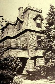 Henry Hobson Richardson's home on Staten Island - Second Empire