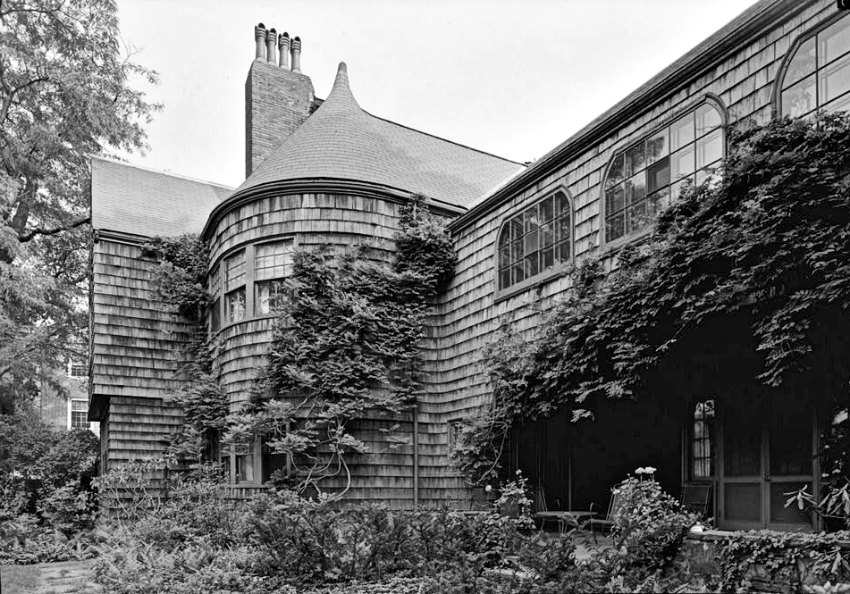 Mary Fisk Stoughton home by Henry Hobson Richardson