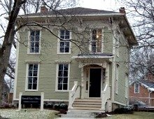 Near downtown Dexter, MI there are quite a few wonderful old homes like this Italianate now doing duty as law offices