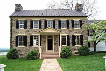 Federal House Architecture - 1843 - Mount Bleak, VA