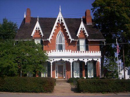 Oak Hill, A brick Gothic Home