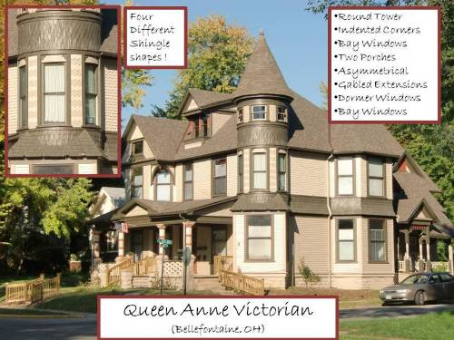 Queen Anne Style House Victorian House Plans
