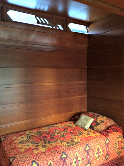 Bedroom in the Rosanbaum House - A Frank Lloyd Wright Usonian House