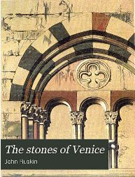 Cover from the Stones of Venice