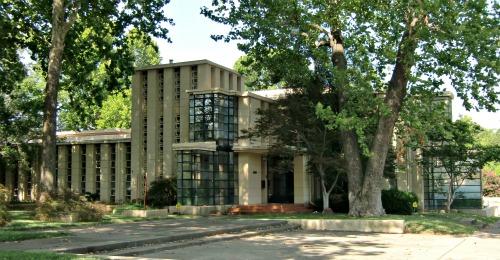 Frank Lloyd Wright designed home