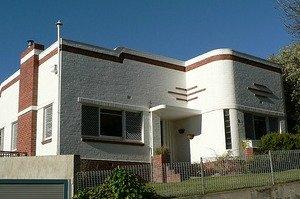 Art Deco home in Hobart, Australia