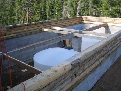 Building A Log Cabin Addition On Boulder Ridge