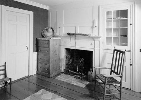 Cape Cod house interior