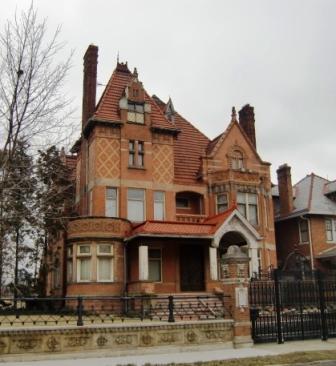 A Tudor house in Columbus, OH