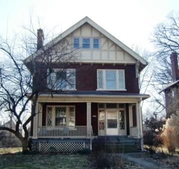 A Tudor wannabe house in Columbus, OH