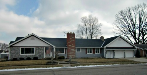 DeGraff Ohio is filled with old homes - and this one fairly recent Ranch - Ranch Style Home Designs